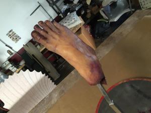 Frozen severed foot prop- top 3