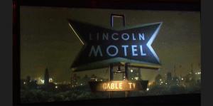 Screen grab- miniature vintage motel model- Lincoln Molel