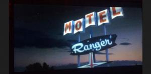 Screen grab- miniature vintage motel model- Ranger Motel