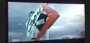 Screen grab- miniature vintage motel model- Capri Motel