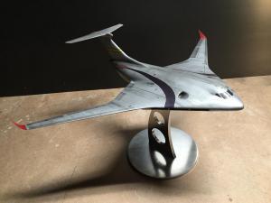 aircraft model lockheed martin hybrid wing body