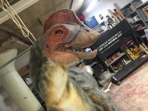 anzu dinosaur final head