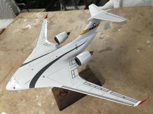 prop airplane model skunkworks lockheed martin
