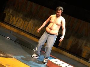 silicone fat suit full monte cmu drama patrick wilson