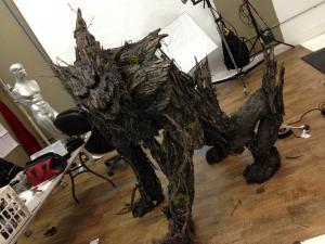 tree wolf monster suit in studio 3