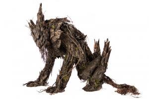 tree wolf monster suit in studio 4